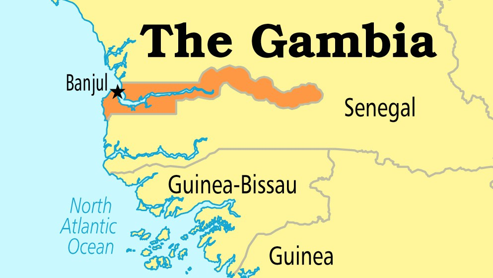 Gambia On Africa Map.International Donors Pledge 2bn To Support Gambia Africa Investor