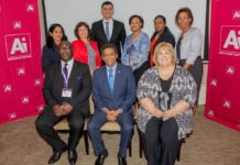 Image dies not mention the credits:State on image as credit: Hubert Danso, Ai CEO and Chairman and Anne-Marie D'Alton, CEO, Batseta, with the Honorable Danny Faure, President of Seychelles and his delegation.