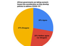 Webinar Press Release: 'Poll Reveals Half of African Business Leaders Do Not Think that African Governments Are Taking Women's Issues into Consideration as They Develop Policies to Address COVID-19'