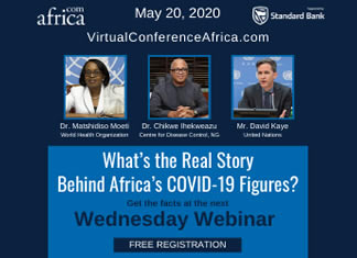 Webinar - session 6 'What's the Real Story Behind Africa's COVID-19 Figures?'
