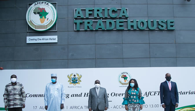 African Union Commission inaugurates African Continental Free Trade Area