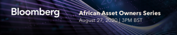 African Asset Owners Co-investment Partnerships 27 August, 2020